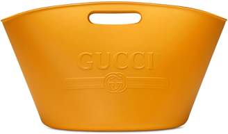 Gucci logo top handle tote