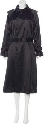 Saint Laurent Virgin Wool & Silk Coat