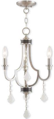 Willa Arlo Interiors Crayford 3-Light Candle-Style Chandelier