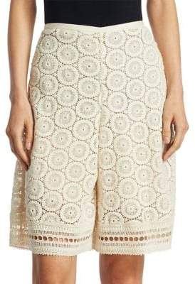 See by Chloe Open Lace Shorts