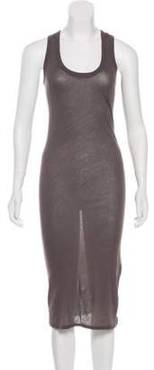 Enza Costa Sleeveless Midi Dress