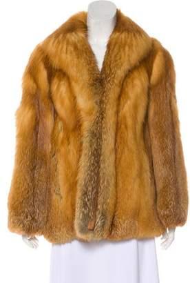 Fur Structured Fox Jacket
