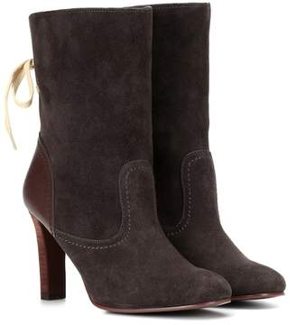 See by Chloe Lara suede ankle boots