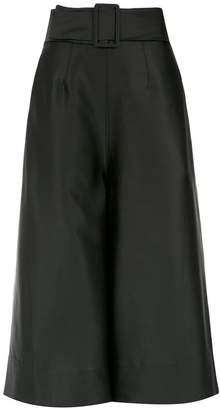 OSKLEN belted culottes