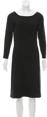 TSE Long Sleeve Knee-Length Dress