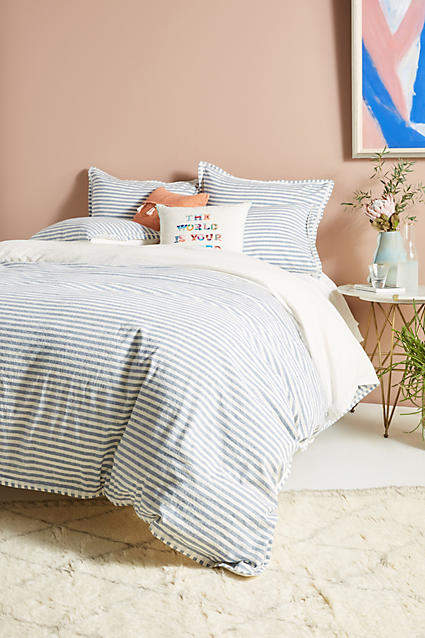 Relaxed Cotton-Linen Duvet Cover