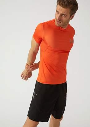 Emporio Armani Ea7 Technical Fabric T-Shirt