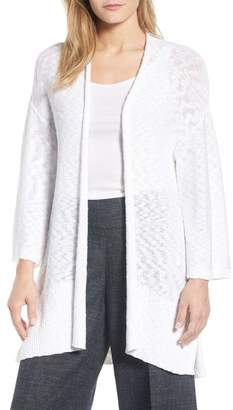 Eileen Fisher Long Organic Cotton Cardigan