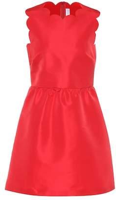 RED Valentino Scalloped satin dress