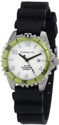 Momentum Women's 'M1 Mini' Quartz Stainless Steel and Rubber Sport Watch