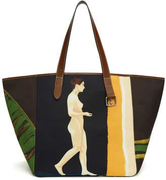 J.W.Anderson Multicolor Palm Lady Belt Tote