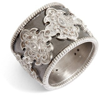 Women's Armenta New World Scroll Diamond Band Ring $790 thestylecure.com