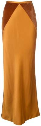 Haider Ackermann long fitted skirt