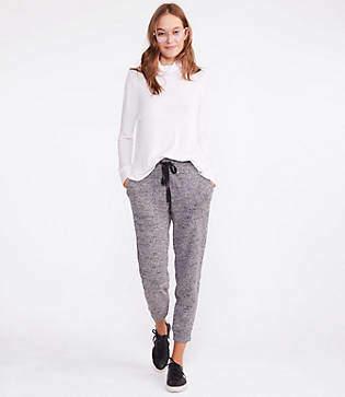 Lou & Grey Boucle Tweed Sweatpants
