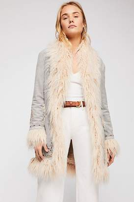Spell And The Gypsy Collective Joplin Shearling Jacket
