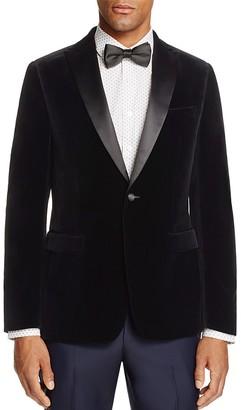 Z Zegna Velvet Regular Fit Jacket $1,045 thestylecure.com