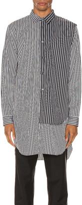 Comme des Garcons Shirt in I & J Pattern | FWRD