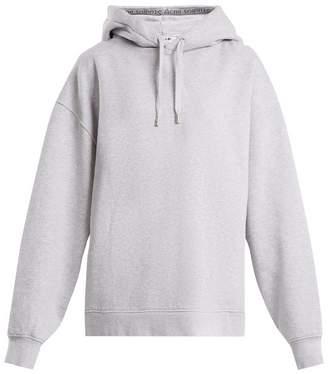 Acne Studios Yala cotton-jersey hooded sweatshirt