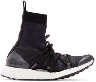 adidas by Stella McCartney Black UltraBOOST x Mid Sneakers