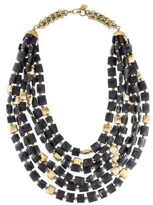 Ashley Pittman Horn Kila Multistrand Necklace
