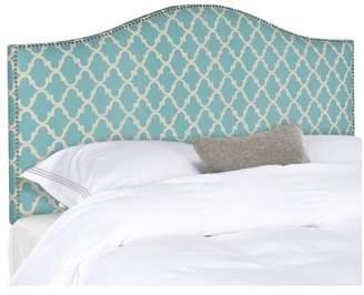 Safavieh Connie Headboard, Blue, White