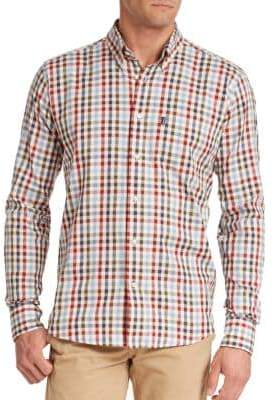 Barbour Bibury Plaid Cotton Sportshirt