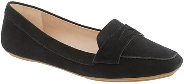 Lexington suede penny loafers