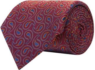 Turnbull & Asser Silk Paisley Tie