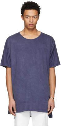 Jan-Jan Van Essche Indigo Long T-Shirt