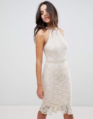 Girls Dress With Lace Hem - ShopStyle UK ffb61bfe5
