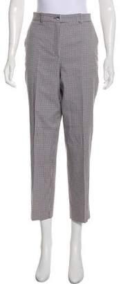 Michael Kors High-Rise Gingham Pants
