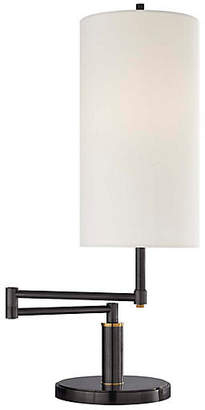Visual Comfort & Co. Anton Large Swing-Arm Table Lamp - Bronze/Brass
