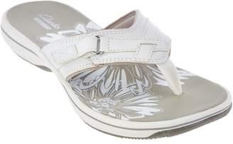 Clarks Sport Thong Sandals - Breeze Sea