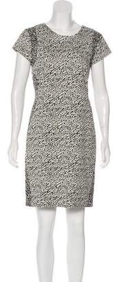 Diane von Furstenberg Cap Sleeve Mini Dress