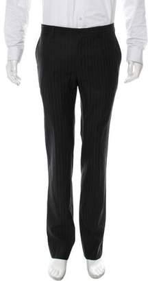 Dolce & Gabbana Stripe Flat Front Pants