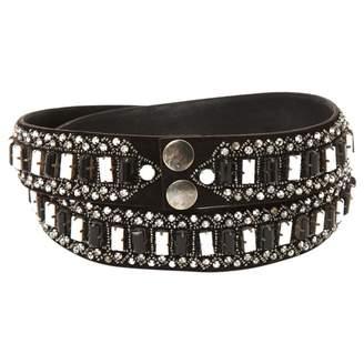 Paul & Joe Black Leather Belts
