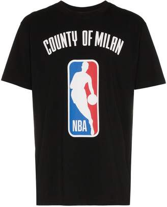 Marcelo Burlon County of Milan X NBA print ribbed neck t-shirt