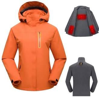 Xlight.ca Women's USB Heated Jacket Set with Detachable Heating Inner Jacket (, M)