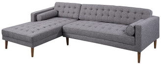 Armen Living Element Sectional With Left Chaise