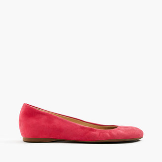 Cece Italian-made ballet flats in suede $128 thestylecure.com