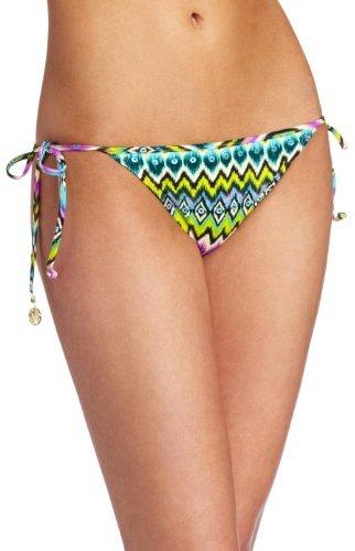 Luli Fama Women's Playa Esmeralda Tie Side Moderate Bottom