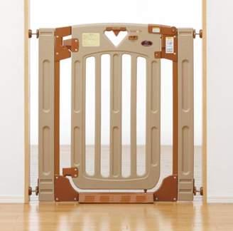 日本育児 ベビーゲート スマートゲイトII プラス 6ヶ月~24ヶ月対象 階段上で使える両開き・片開き選択式のベビーゲート(階段上対応)