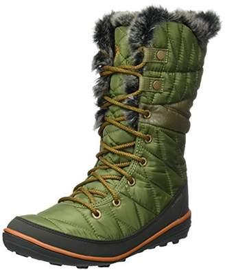 Columbia Women's Heavenly Omni-Heat Snow Boots, Green (Zuc/Bright Copper), 40 EU