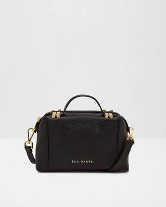 Leather small tote bag $269 thestylecure.com