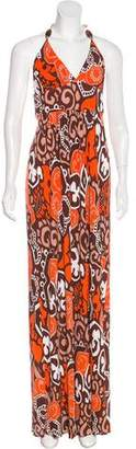 Milly Printed Maxi Dress