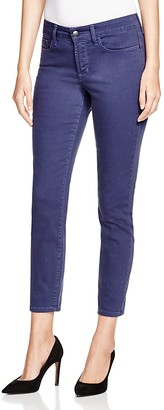 NYDJ Skinny Ankle Jeans in Peacoat $110 thestylecure.com