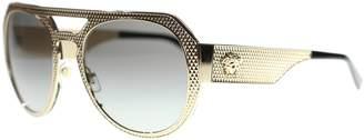 Versace EV Women's Sunglasses VE2175 125211 /Grey Aviator 60mm Authentic