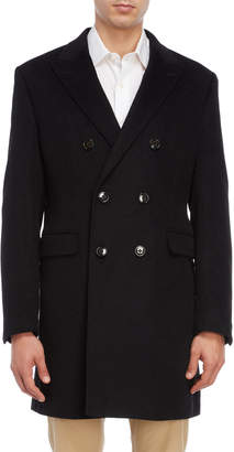 Lauren Ralph Lauren Wool Double-Breasted Overcoat