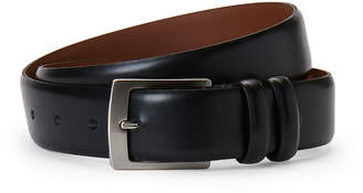 Bosca Leather Double Keep Loop Belt