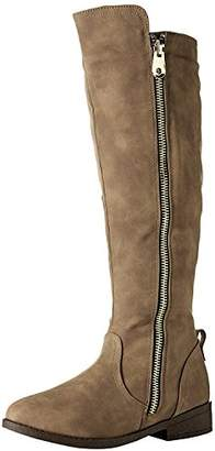 Qupid Women's PLATEAU-184BX Combat Boot